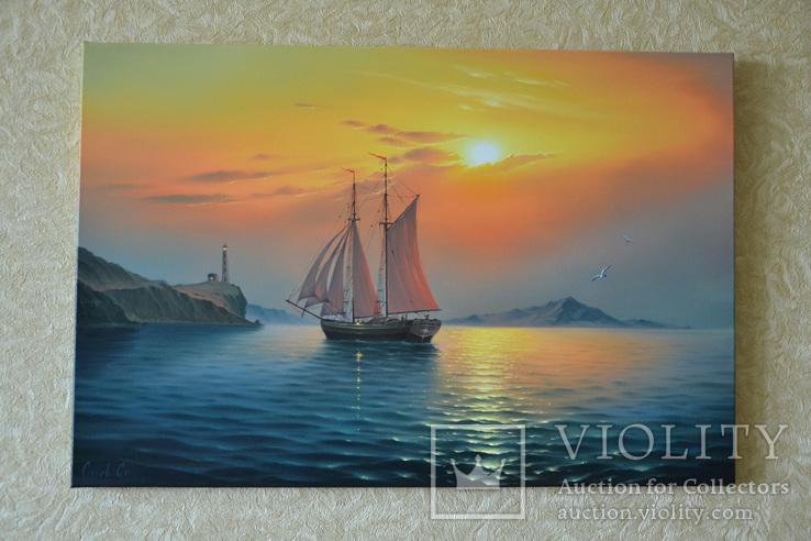 Рассвет в гавани, фото №4