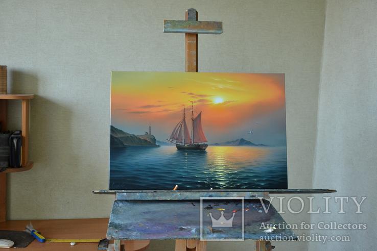Рассвет в гавани, фото №8