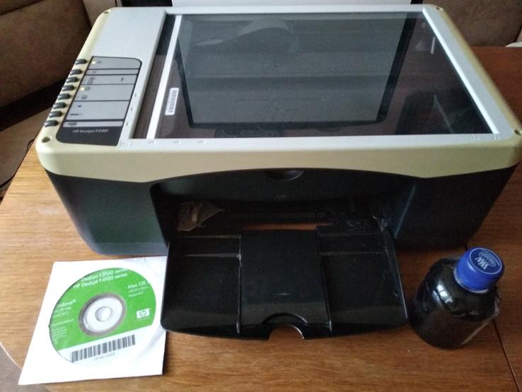 Принтер со сканером и ксероксом hp deskjet