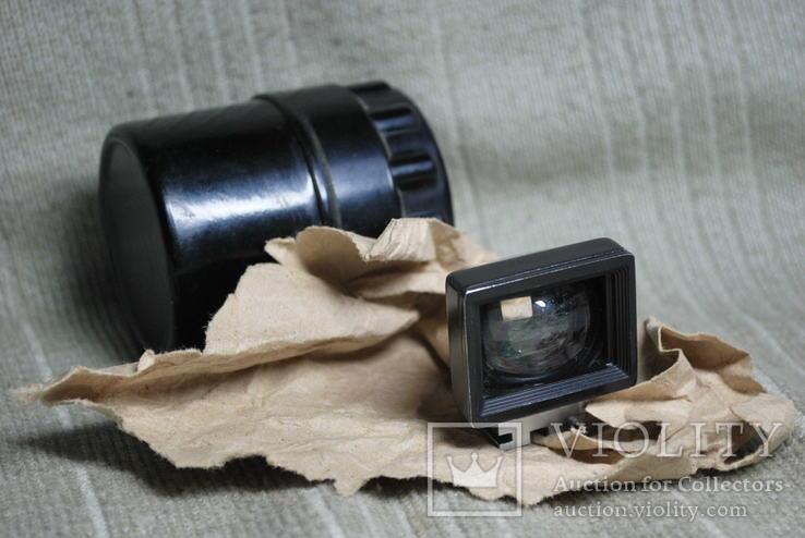 Видоискатель ВИ-20 №04985 F=2cm для объектива Руссар 20мм КМЗ f=20mm для Зоркий ФЭД