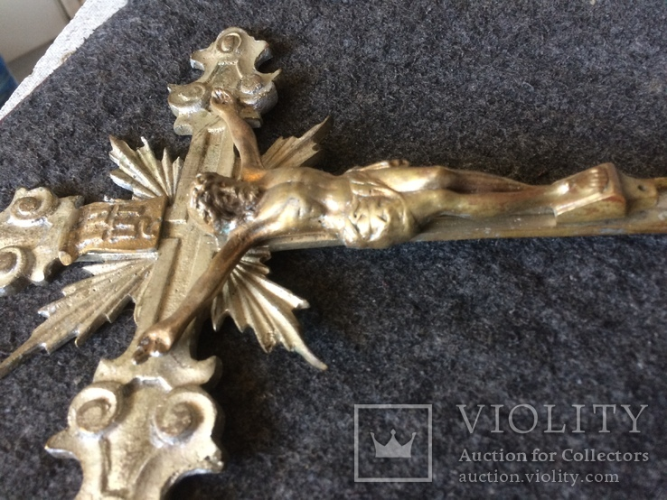 Крест-распятие на рукояти, фото №8