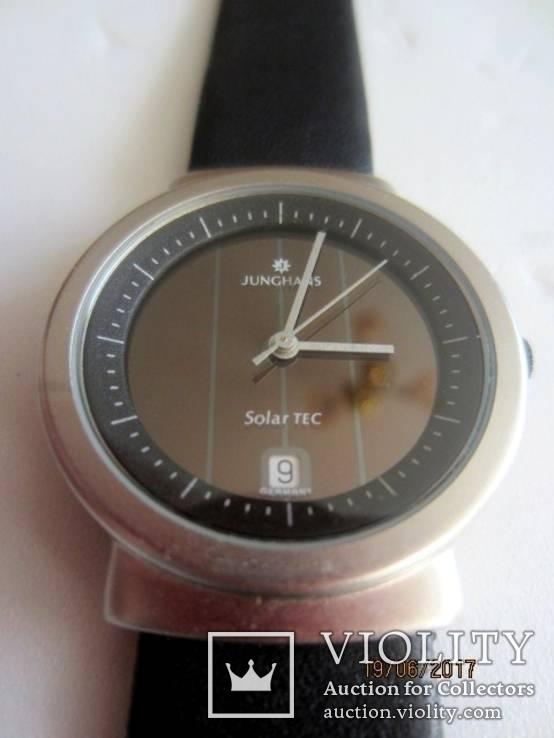 Часы Junghans uhren Solar Tec, фото №7