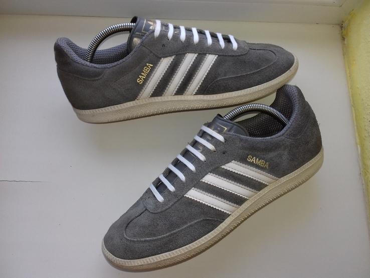 Кросовки Adidas Samba из Натуральной Кожи (Розмір-42\26.)