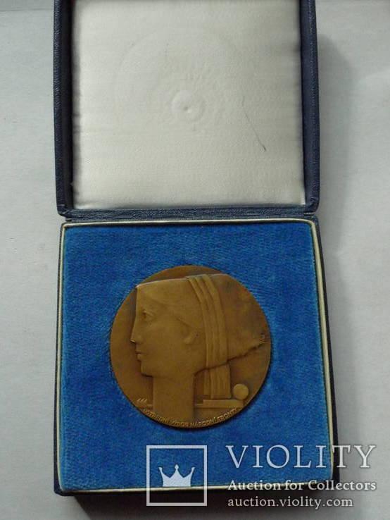 """Настольная медаль """"ЧССР 1918-1968"""", фото №6"""