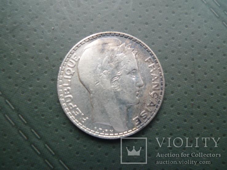10 франков. 1933 год.