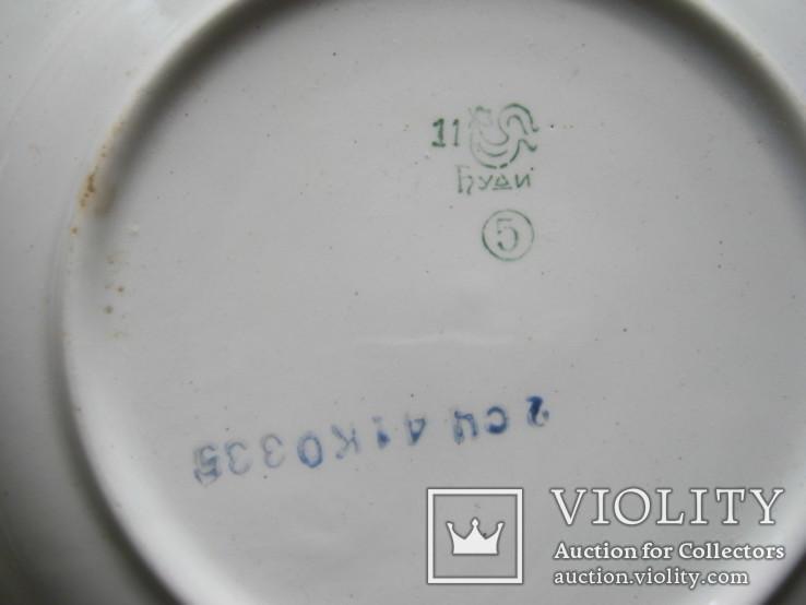 Две тарелки с праздничными датами СССР, фото №11