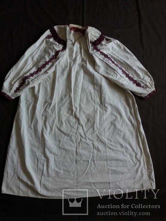 Сорочка женская домотканная, фото №2