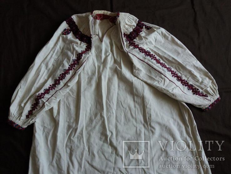 Сорочка женская домотканная, фото №3