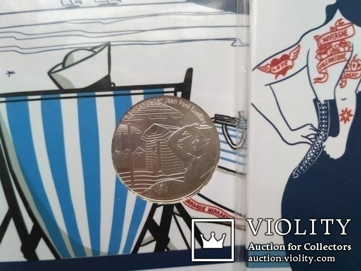 10 евро серебро Франция 4 шт. =40 ЕВРО, фото №4