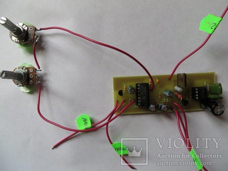 Металлоискатель ПИРАТ (собранная плата с двумя резисторами)