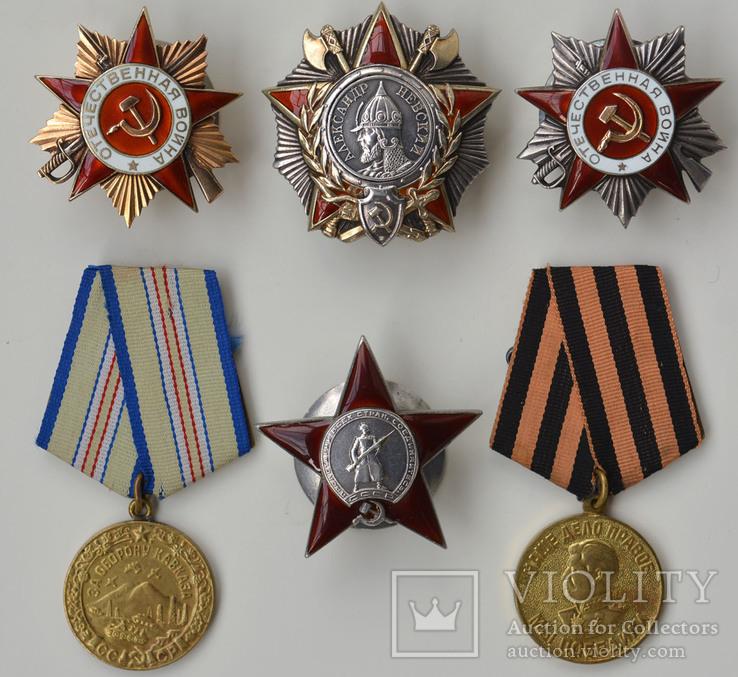 Комплект Ниорадзе. Невский, ОВ-1-мерседес, ОВ-2-канава, КЗ-пятка.