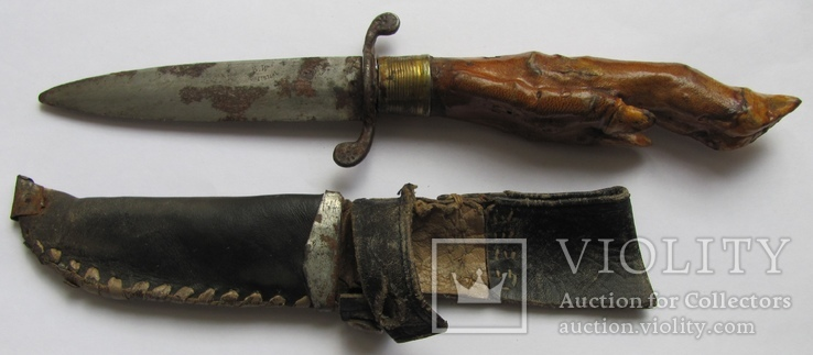 Старинный нож. (с клеймом)
