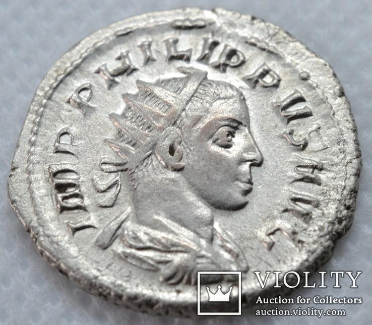 Антониниан Филиппа 2 LIBERALITAS AVGG III