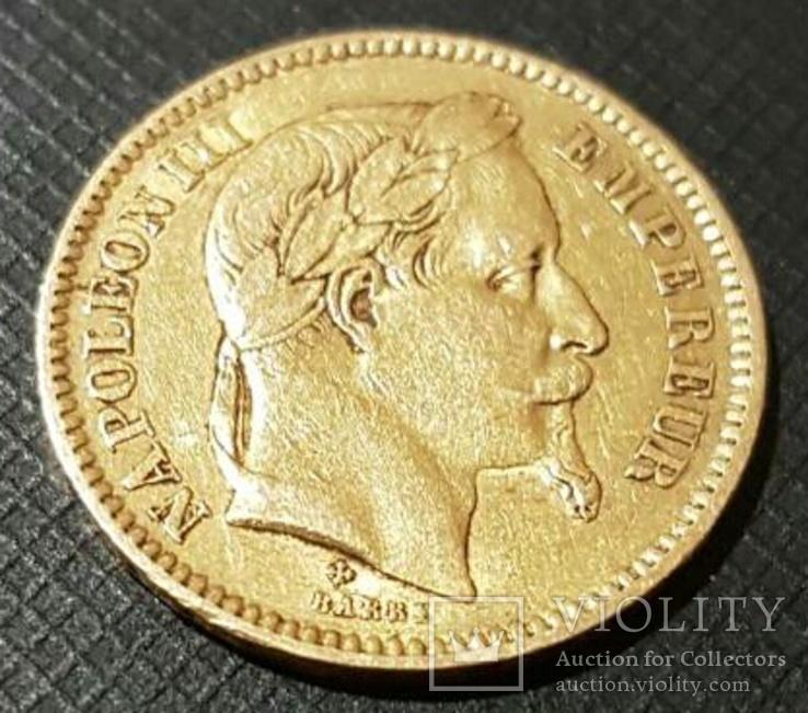 20 франков (francs)