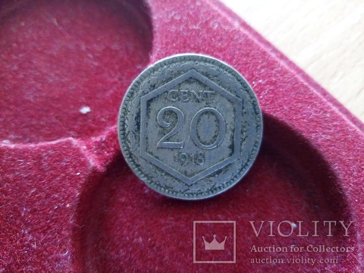 20 centim 1918