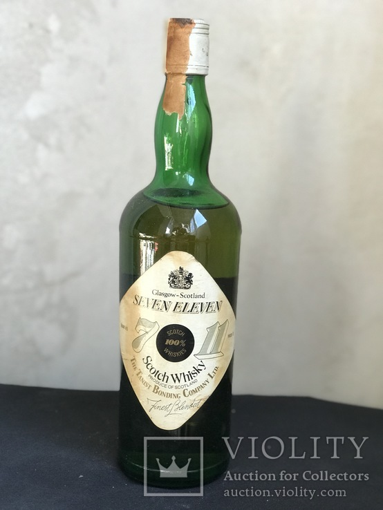 Seven Eleven whisky 1970s