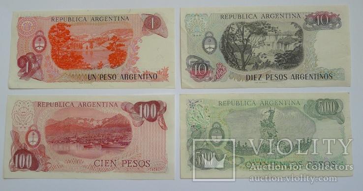 1, 10, 100, 500 Pesos Аргентина., photo number 5