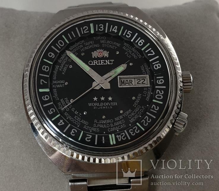 Часы наручные Orient World Diver