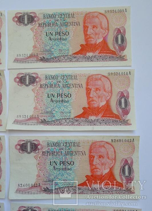 1 Песо Аргентина - 10 штук ., photo number 5