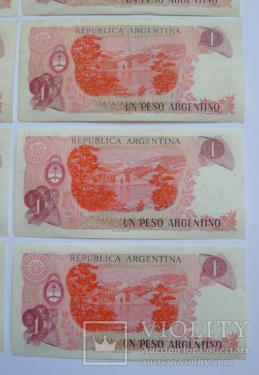 1 Песо Аргентина - 10 штук ., photo number 11