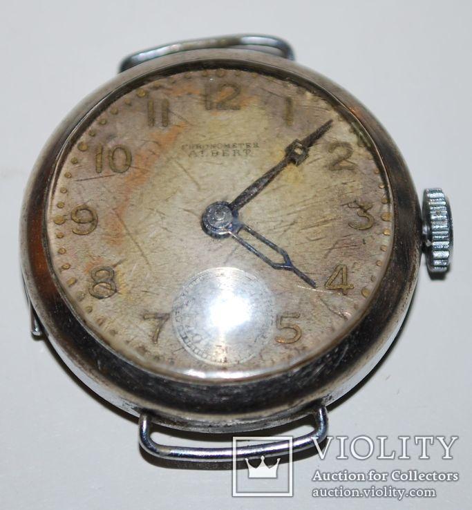 Хронометр Chronometer Albert, Welton Wach Co, 15 кам. - SWISS, на запчасти/ремонт.