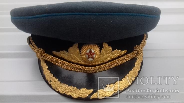 Парадная фуражка подполковника ВОСО обр. 1955г
