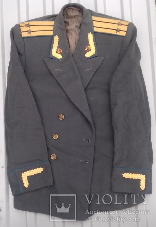 Парадный мундир (китель) подполковника ВОСО обр. 1955г (редкий род войск)