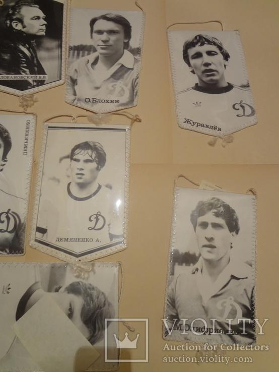 Динамо Киев Вымпела футбольные в люксовом сохране, фото №8