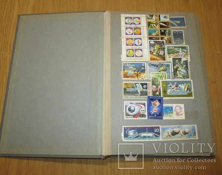 Альбом с марками Космос 413 марок 11 блоков