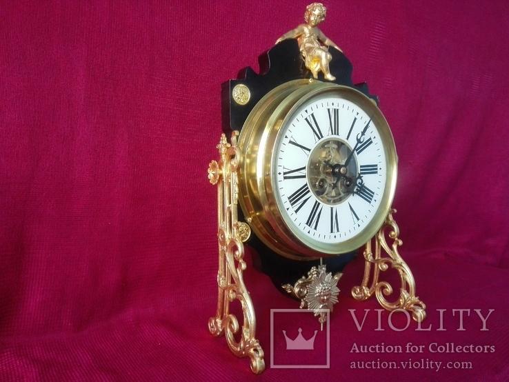 Настенно-настольные часы с боем Eugene Farcot XIX век