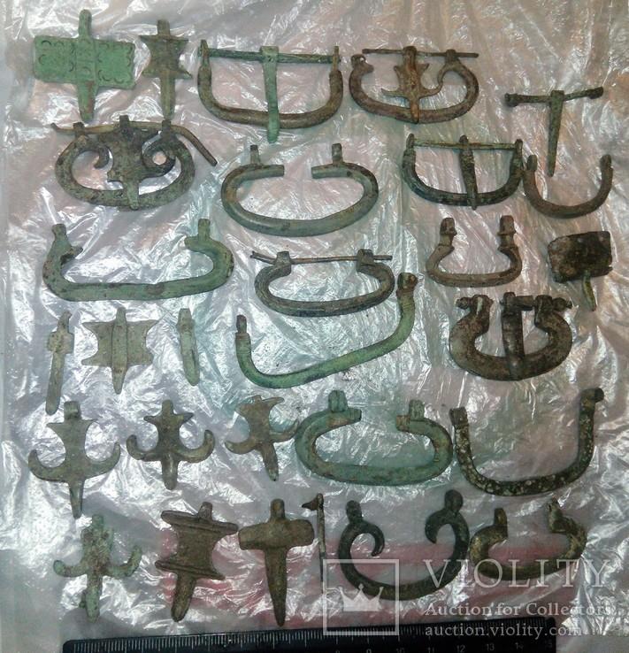 Пряжки и язычки ЧК РИМ, фото №2