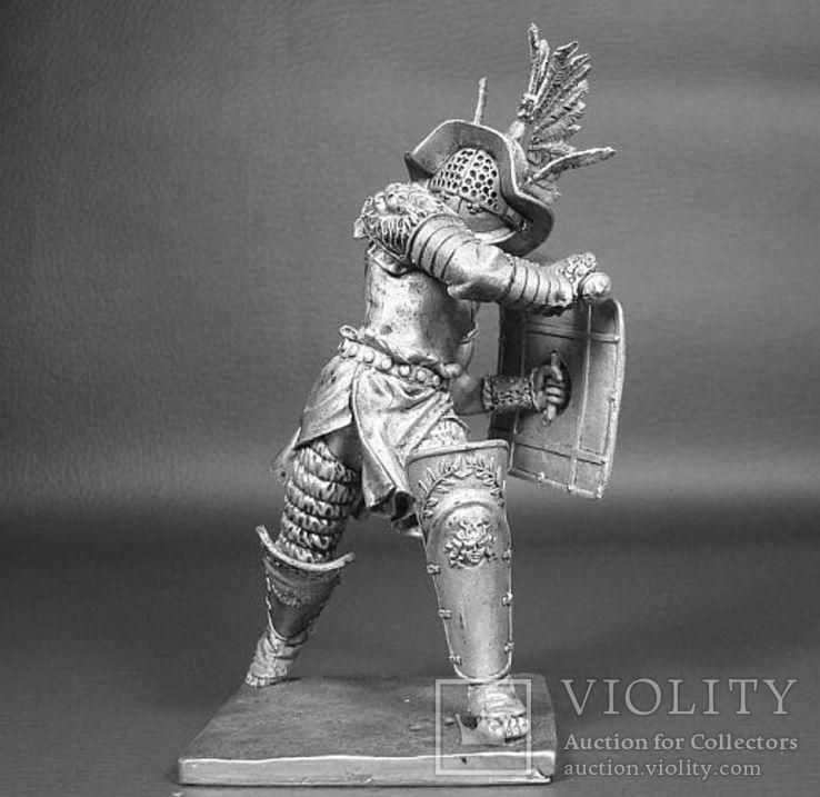 Рим. Гладиатор-Фракиец 1век до н.э. 90мм., фото №2