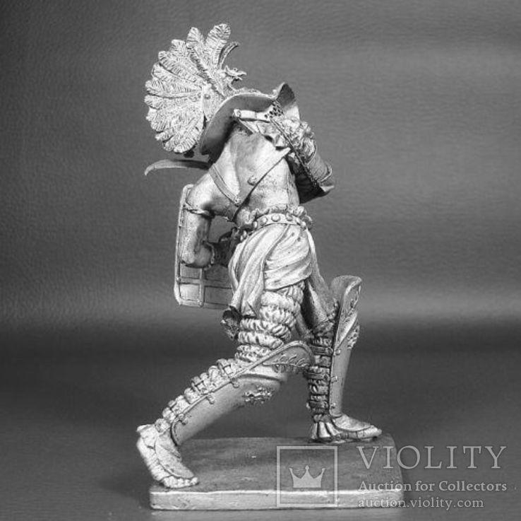 Рим. Гладиатор-Фракиец 1век до н.э. 90мм., фото №3