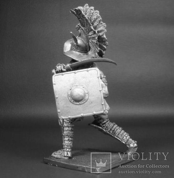 Рим. Гладиатор-Фракиец 1век до н.э. 90мм., фото №5