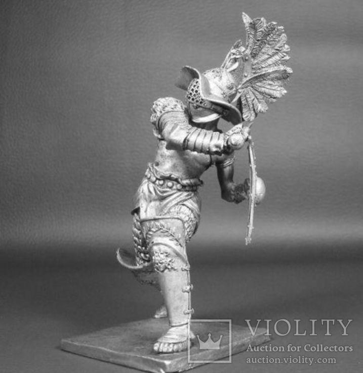 Рим. Гладиатор-Фракиец 1век до н.э. 90мм., фото №6