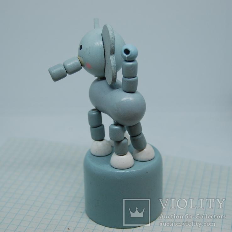 Слоник. Танцующий. 100мм, фото №3