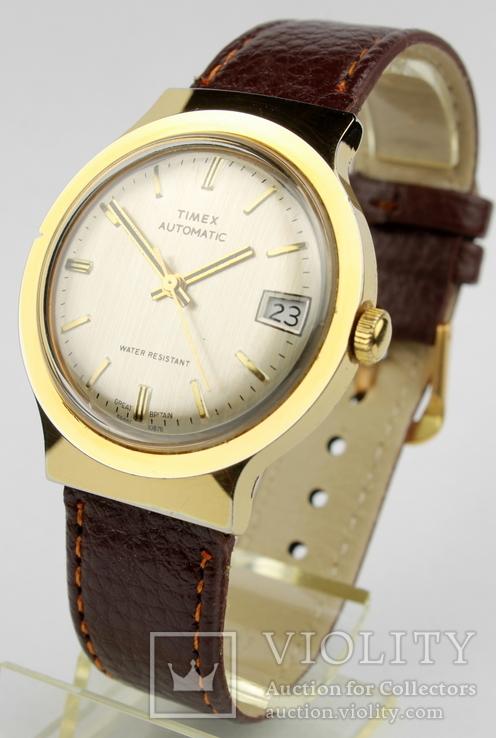 Timex Automatic. 46661 10878. 1970-е. Великобритания.