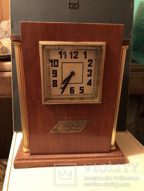 Часы ОЧЗ. Подарочные, 1957г.