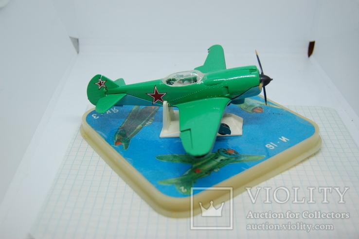 Самолет Ла-2. в коробочке, фото №5