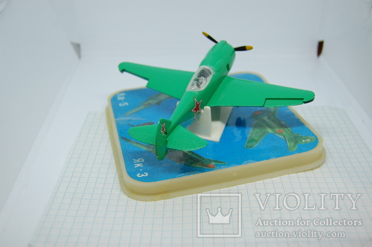 Самолет Ла-2. в коробочке, фото №6