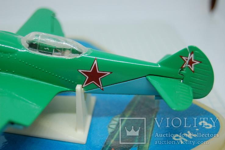 Самолет Ла-2. в коробочке, фото №13