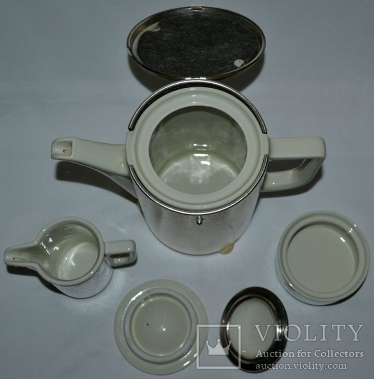 Кофейник,молочник,сахарница, в термокапсусе., фото №3
