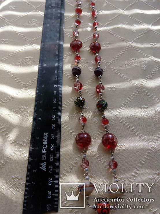 Венецианские бусы  Rosse, фото №3