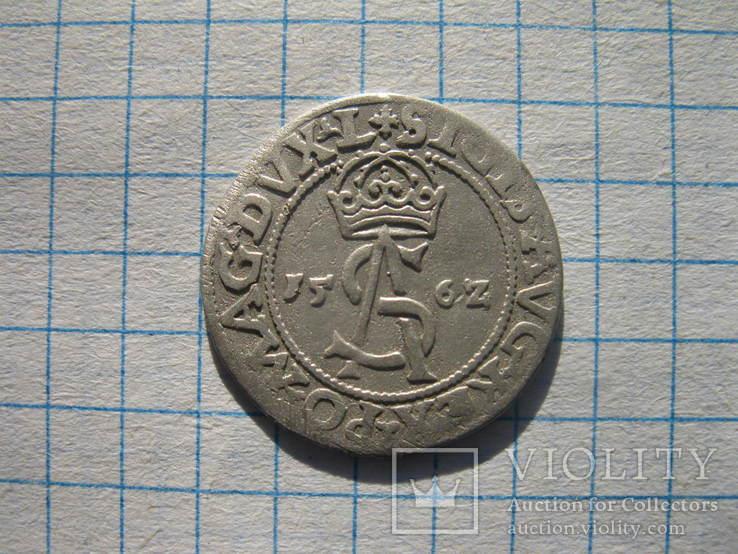 Литва Вильно 3 гроша 1562 + бонус