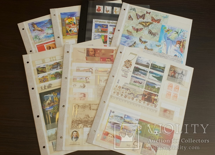 Блоки и марки