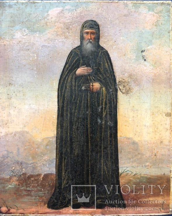 Икона монаха Кариона