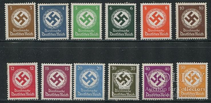 1934-38 Рейх  полная серия MNH / МН