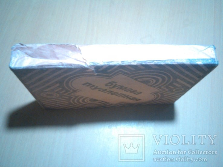 СССР Туалетная бумага в пачке, фото №8