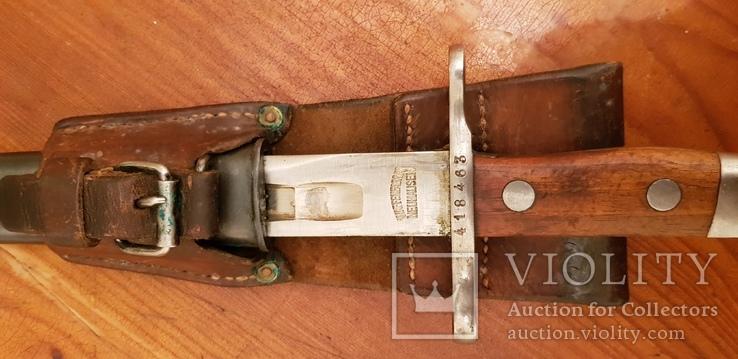 Штик ніж Шмідта-Рубіна ранній. 1899 р.зразка.