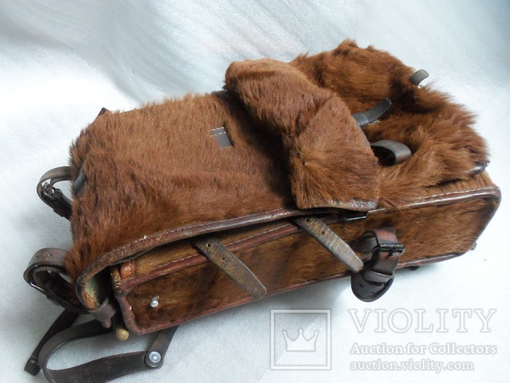 Швейцарский армейский меховой ранец 1938 г.
